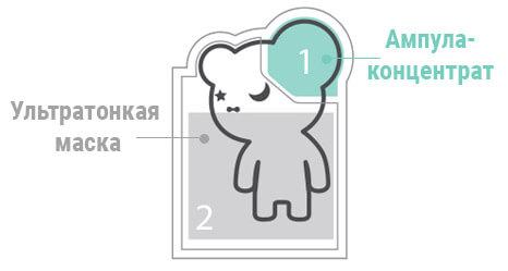 THE OOZOO Oozoo Bear Black Space Pore Caring Mask